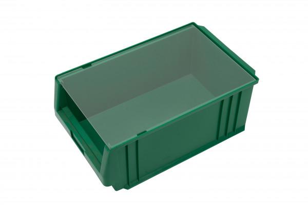 Staubdeckel transparent für Sichtlagerkästen Serie PLK 1