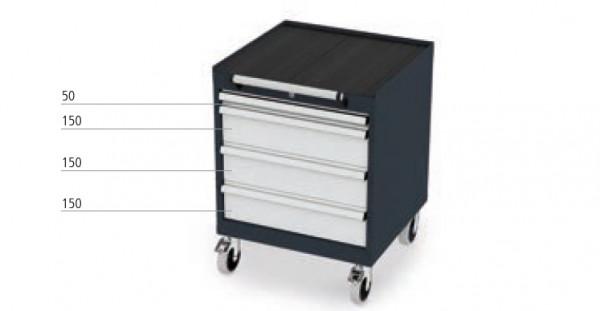 Mobiller Schubladenschrank mit 4 Schubladen