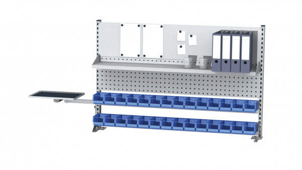 Aufbau für Kastenwerkbank B 1500 x H 950 mm