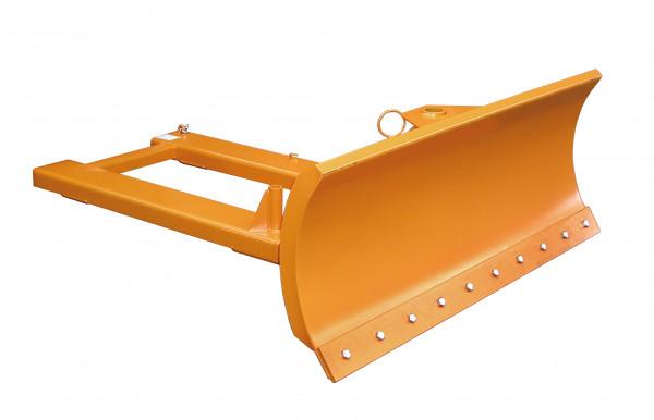 Schneeschieber mit Stahlschürfleisten Schildbreite 1500 mm