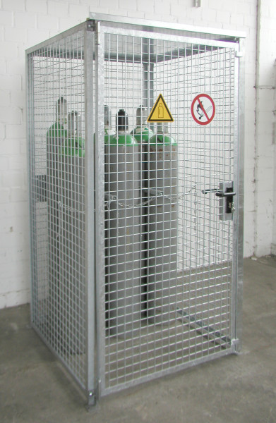 Gasflaschen- Container Typ GFC-M0/D