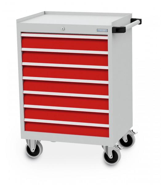 Mobiler Schubladenschrank mit 7 Schubladen