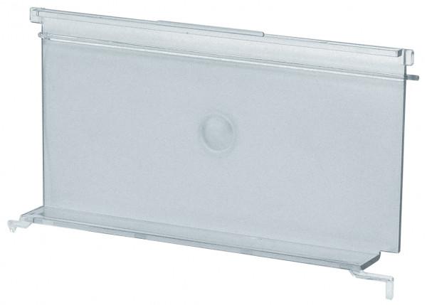 Sichtklappen transparent für Sichtlagerkästen Serie PLK 2a