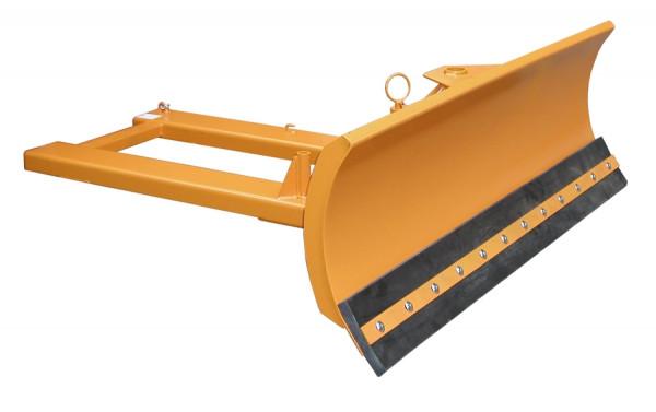 Schneeschieber Typ SCH-G 150 Schildbreite 1500 mm mit Gummischürfleisten