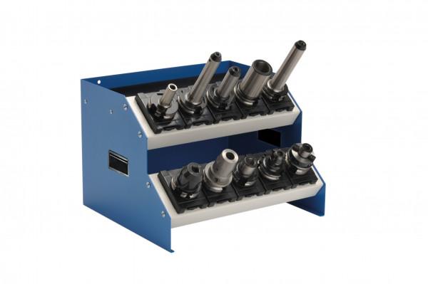 CNC - Tischaufsatzgestell 2 Etagen B 575 x T 375 x H 300 mm