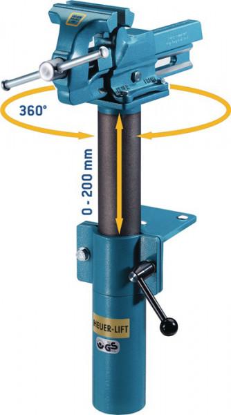 Höhenverstellgerät Schraubstock HEUER 120 mm
