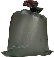 Kunststoffsack 120 Liter LD-PE grau 100 µm