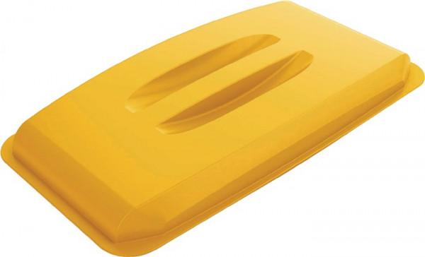Deckel PP gelb für Wertstoffsammler 60 Liter