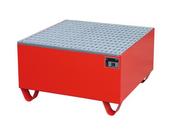 Auffangwanne aus Stahlblech für 1 x 200-Liter-Fass