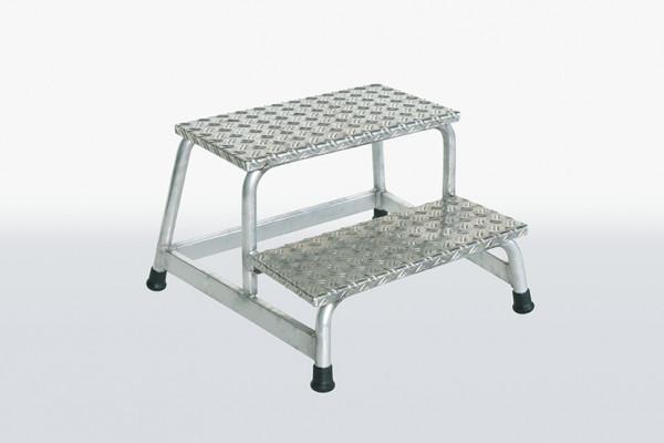 Aluminium-Arbeitspodest starr mit 2 Stufen