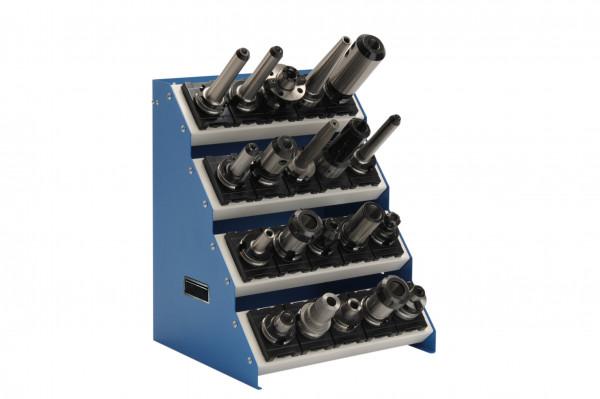 CNC - Tischaufsatzgestell 4 Etagen B 575 x T 375 x H 525 mm