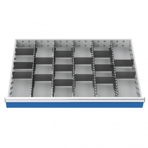 Metalleinteilung | 20-teilig