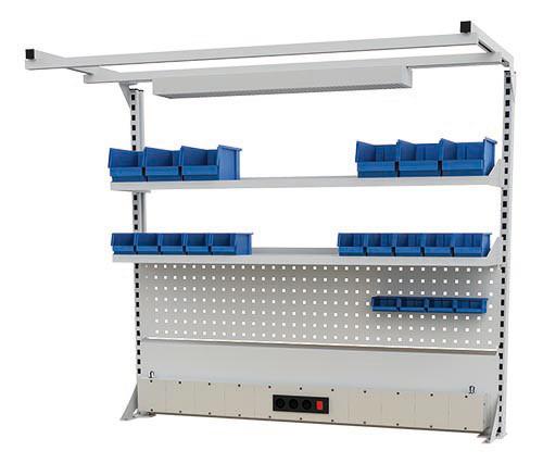 Multi-Wand Aufbau für Kastenwerkbänke B 1500 x T 750 x H 859/959 mm