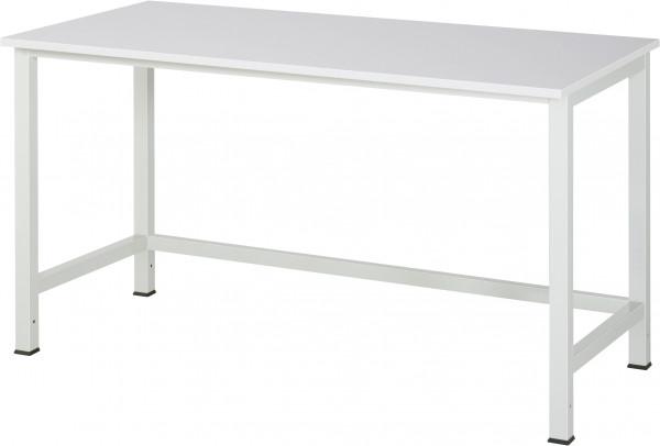 Werktisch B 1500 x T 800 x H 825 mm mit EGB-Melamin-Platte