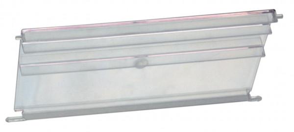 Sichtscheiben transparent für Sichtlagerkästen für VTK 600/320