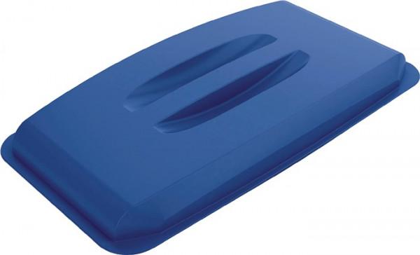 Deckel PP blau für Wertstoffsammler 60 Liter
