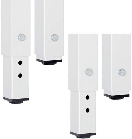 RAU Höhenverstellsatz für Werkbänke Breite 750 - 2000 mm