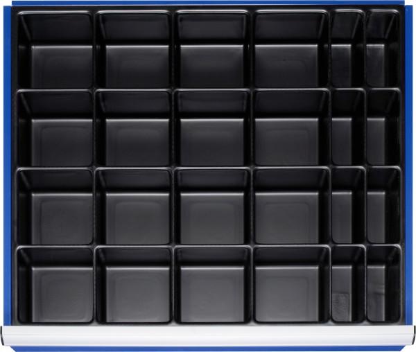 Einteilungsset für Schubladen- Innenmaß B 680 x T 560 mm