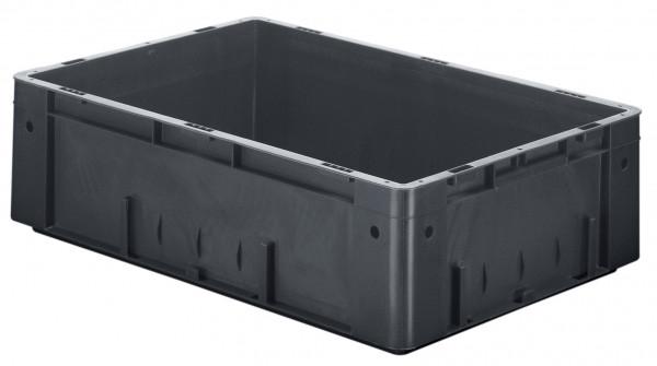 Schwerlast-Stapelkasten leitfähig VTKL 600/175-0 aus PP