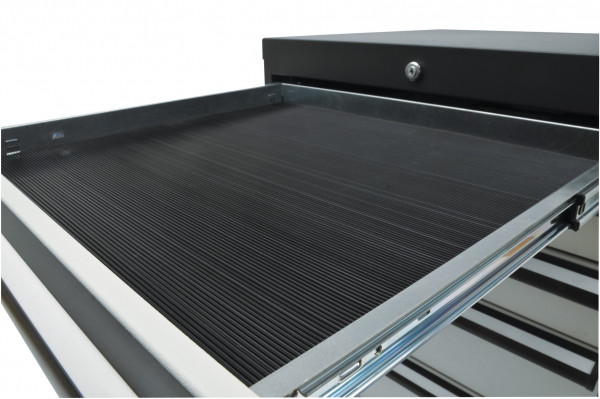 Riffelgummi- Einlage für Schubladenschränke B 800 x T 450 mm