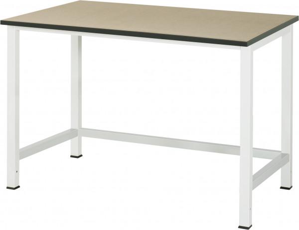 Werktisch B 1250 x T 800 x H 825 mm mit MDF-Platte