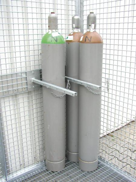 Gasflaschen-Haltervorrichtung