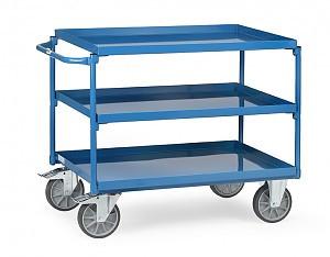 Tischwagen 4830 mit 3 Wannen