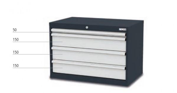 Schubladenschrank mit 4 Schubladen