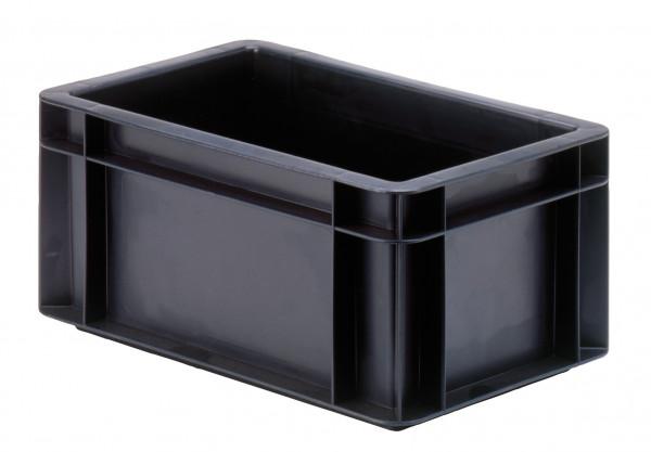Transport-Stapelkasten schwarz leitfähig TKL 300/145-0