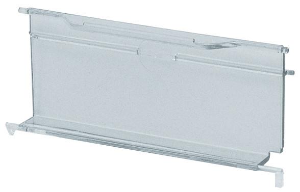 Sichtklappen transparent für Sichtlagerkästen Serie PLK 3a und PLK 3