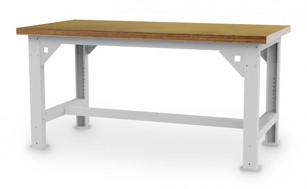 Schwerlasttisch B 1500 x T 750 x H 734 - 1084 mm, Tragkraft 1000 kg