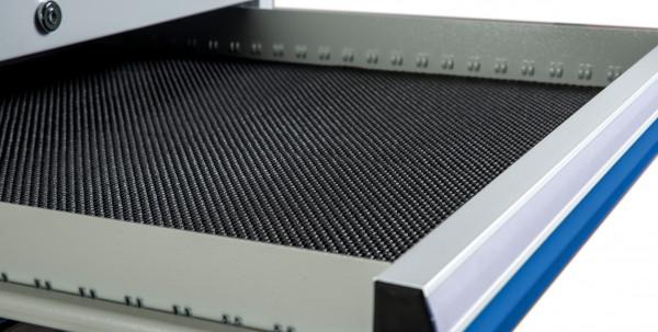 Antirutschmatte schwarz für Schubladennutzmaß 450 x 600 mm