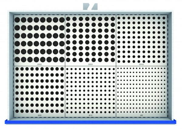 MDF-Werkzeugplatten Set 6-teilig für Schubladennutzmaß 900 x 600 mm