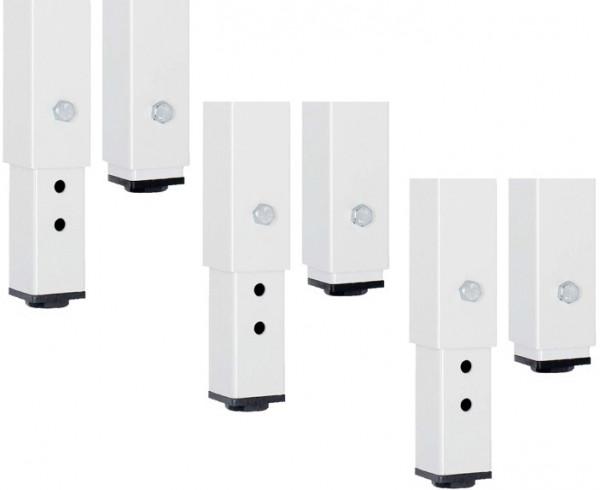 RAU Höhenverstellsatz für Werkbänke Breite 2500-3000 mm
